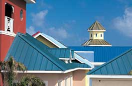 Standing seam metal roofs from Englert